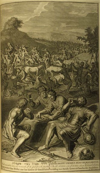 Daud menyerang Amalek