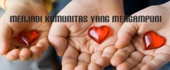 Menjadi komunitas yang mengampuni